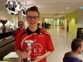 3e plaats A jeugd: David