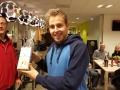 2e plaats A senioren: Lars