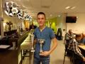 Eerste plaats A-poule en clubkampioen jeugd: Ken