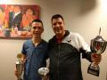 Onze nieuwe clubkampioenen: Ken en Bas